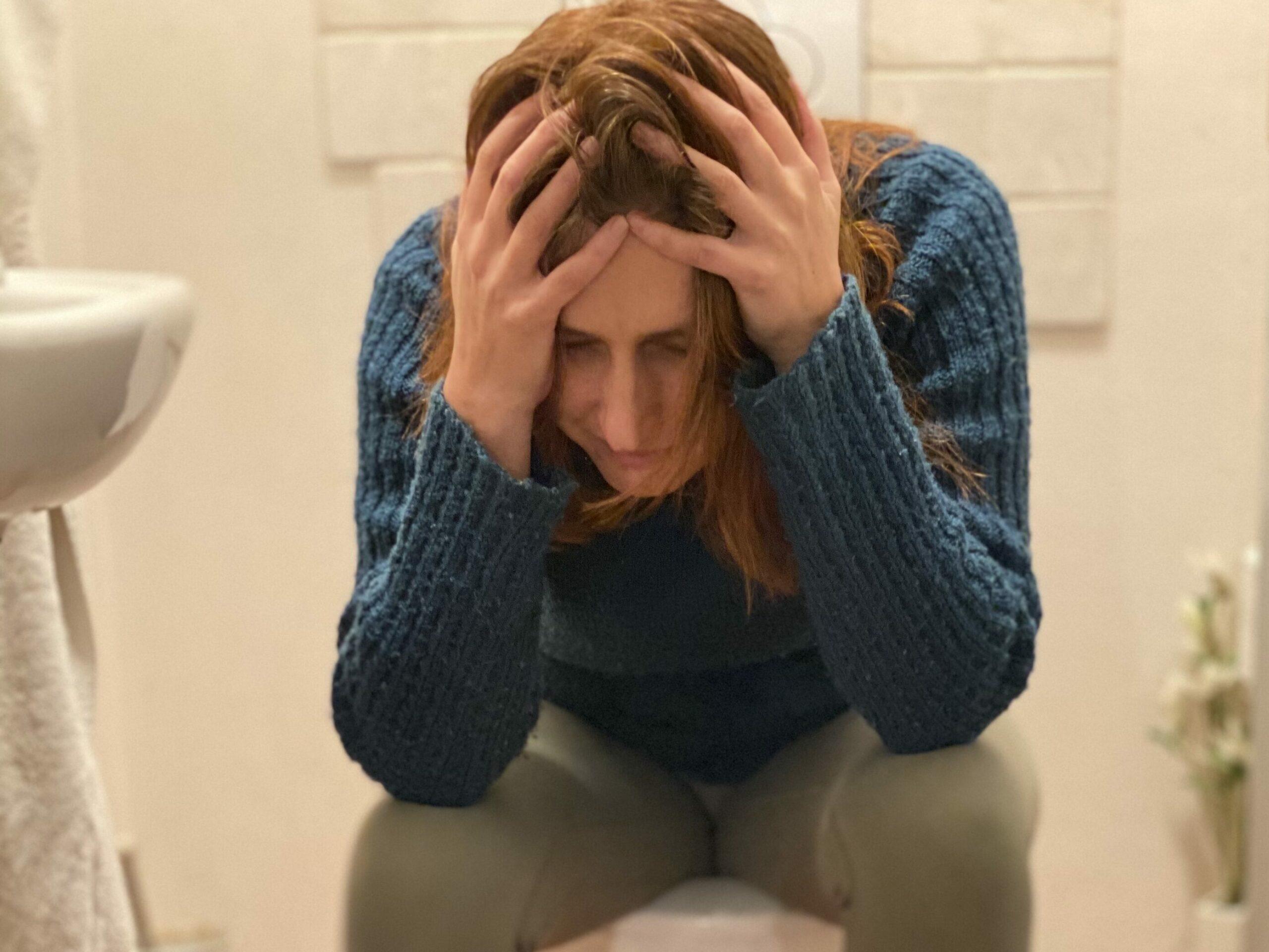 Toaleta je místo, kde se dá provádět jakákoli protistresová dechová technika.